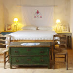 Schlafzimmer im Ferienhaus Casa Chiarotti in Strongoli