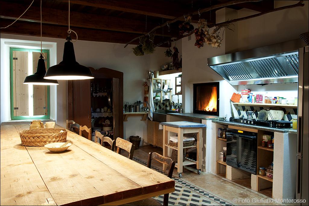 Ferienhaus Strongoli Case Küche