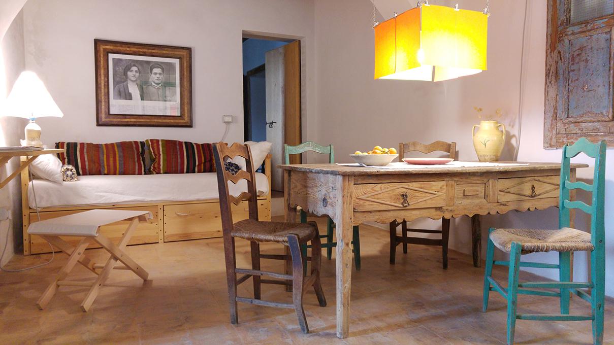 Ferienhaus Strongoli Case Wohnbereich
