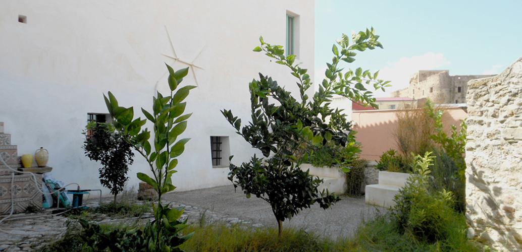 Ferienhaus Strongoli Case Außenbereich