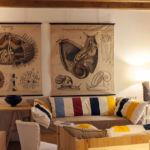 Wohnraum im Casa Castiglione in Strongoli, Kalabrien