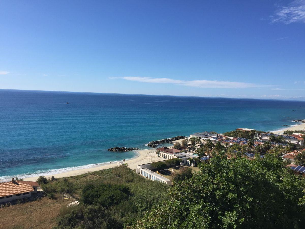 Aussicht aufs Meer Residenza Gherly für einen Taumurlaub