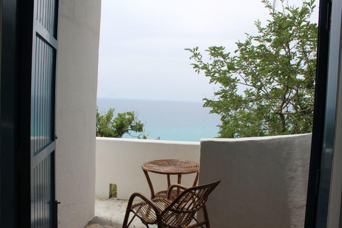 Meerblick vom Balkon Residenza Ferienhaus Gherly
