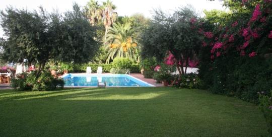 villa brago pool